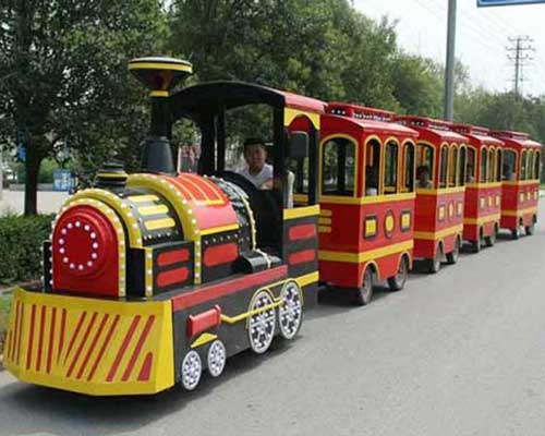trackless park train rides cheap in Beston