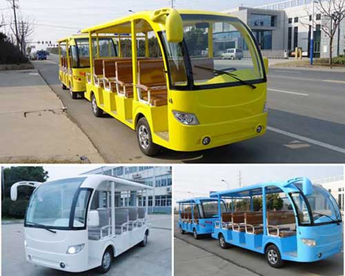 electric tourist trackless train cheap
