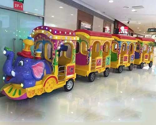 well-built kiddie party trackless train rides in Beston