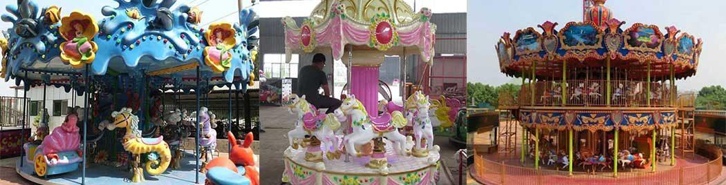 ngựa băng chuyền nhỏ để bán