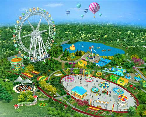 theme park equipment supplier
