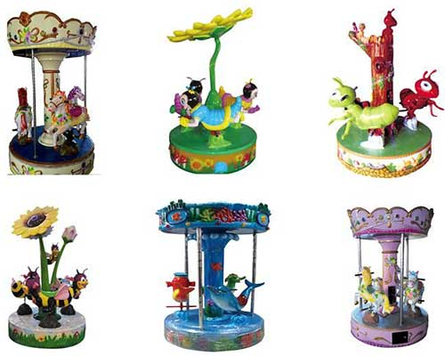 coin operated carousel cheap in BESTON