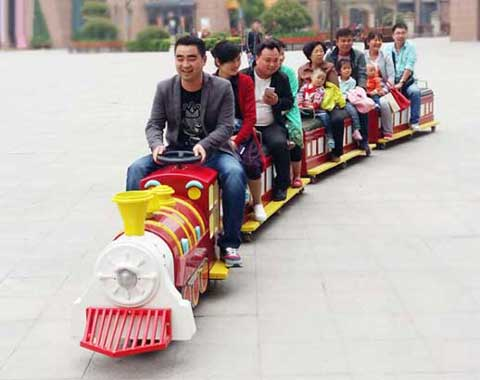 kiddie party train rides cheap price in Beston
