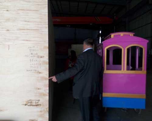 amusement park train rides for sale in beston