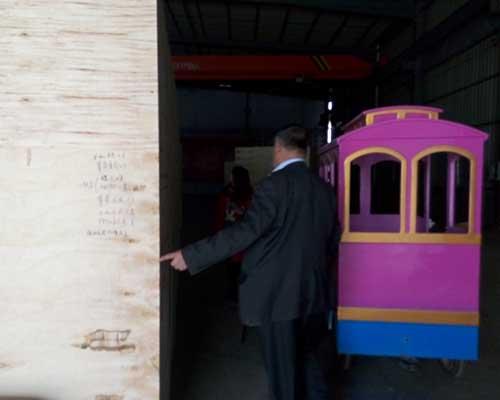 amusement park train rides for sale in beston
