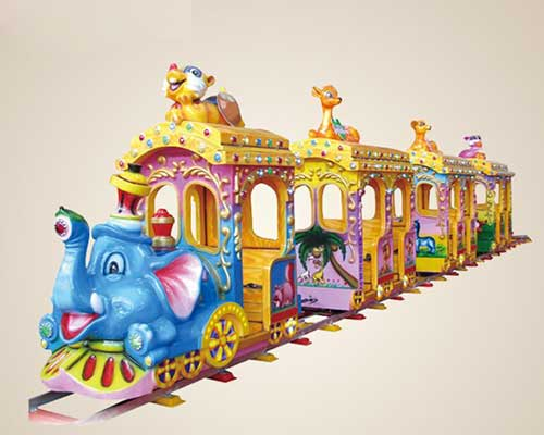 children train rides with tracks manufacturer Beston