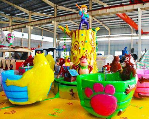 kiddie tea cup rides cheap in Beston