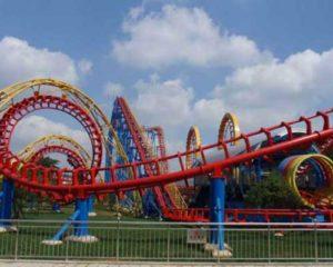 roller coaster untuk dijual