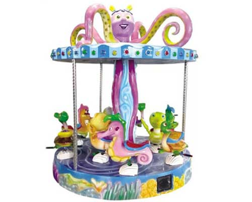 coin operated kiddie carousel ride manufacturer Beston