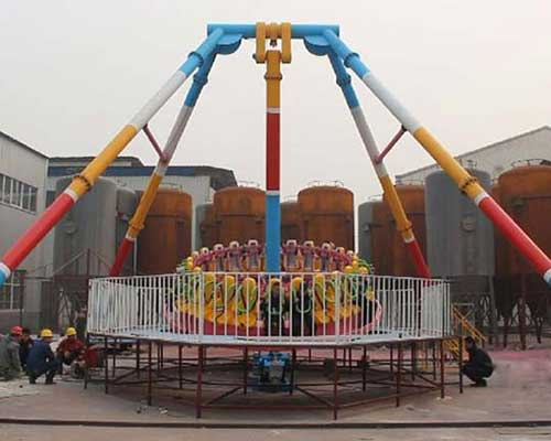 amusement park giant frisbee rides for sale