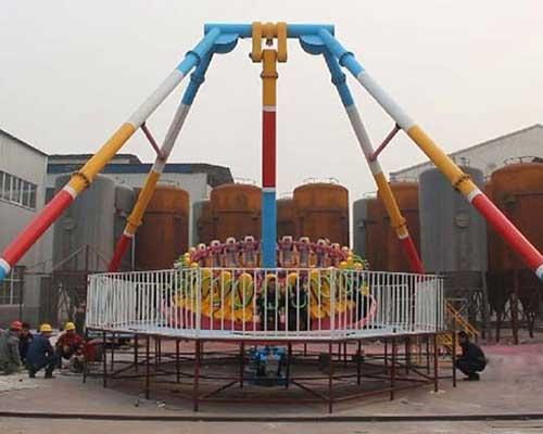 amusement park giant frisbee rides for sale