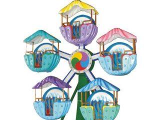 kincir ria miniatur karnaval beston untuk dijual