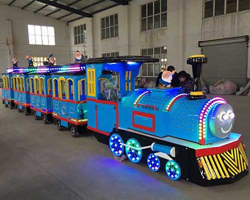 shopping mall trackless train rides cheap in Beston