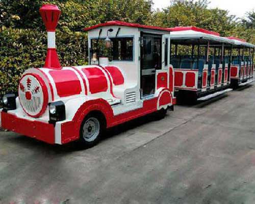 buy amusement park trackless train rides from manufacturer Beston