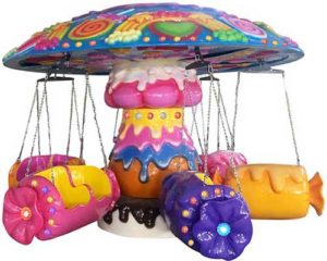 amusement chair swing rides for sale cheap in BESTON