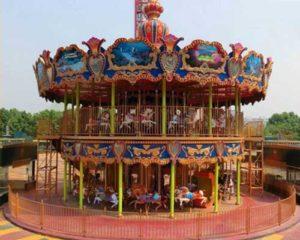 Wahana carousel Beston untuk dibeli