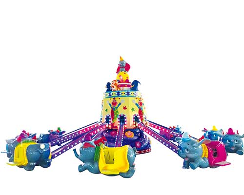 beston kids elephant rotary rides manufacturer