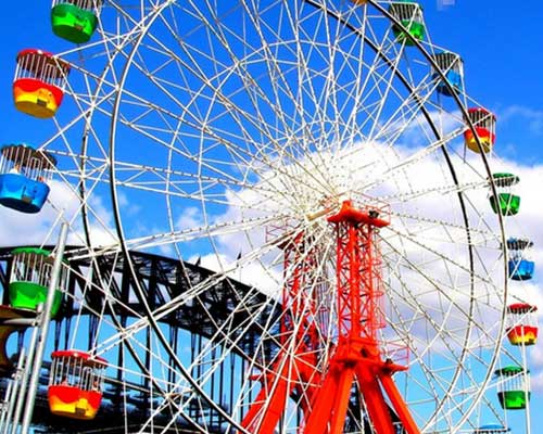how does a ferris wheel cost