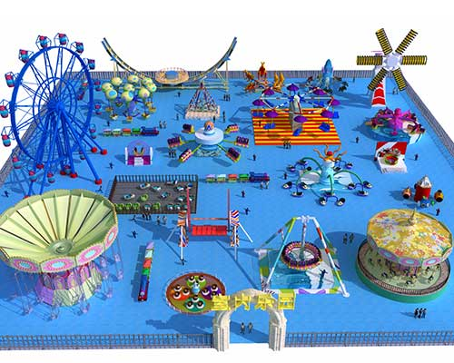 purchase amusement park rides