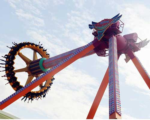 spinning pendulum rides cheap in Beston