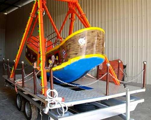 trailer carnival small pirate ship rides for sale in Beston