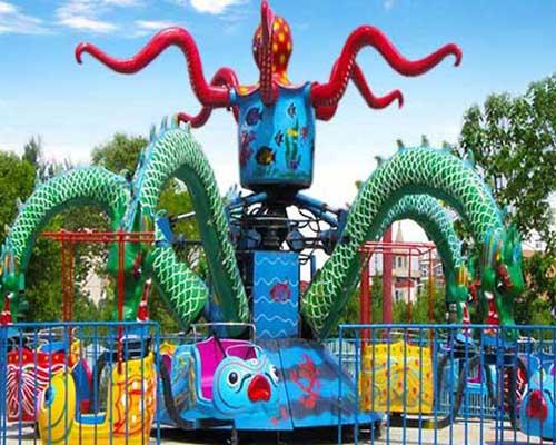 amusement park rides octopus rides for sale