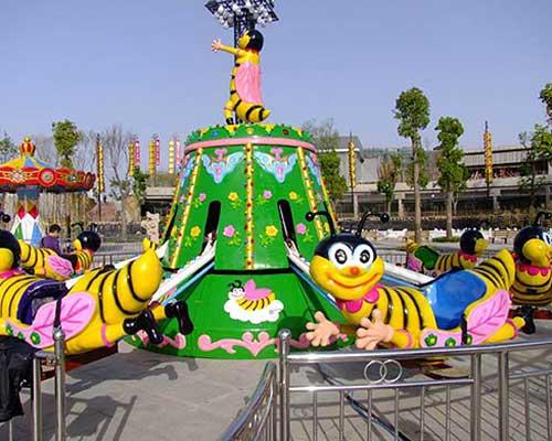kiddie rides self-control bee rides