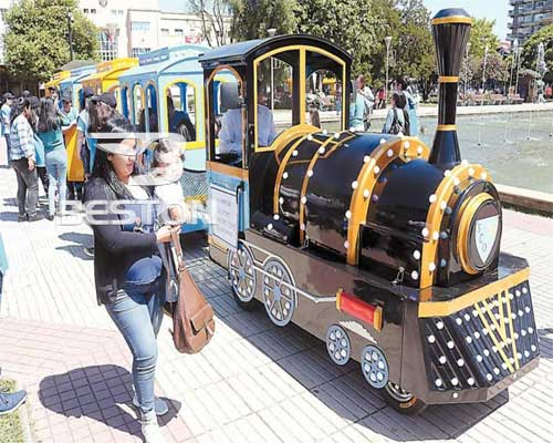 trackless train rides for sale in Chile