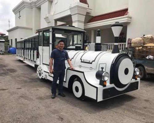beston trackless train rides manufacturer