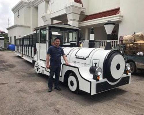 beston trackless train rides manufacturer