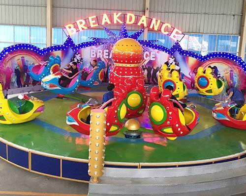 amusement park brekdance rides manufacturer
