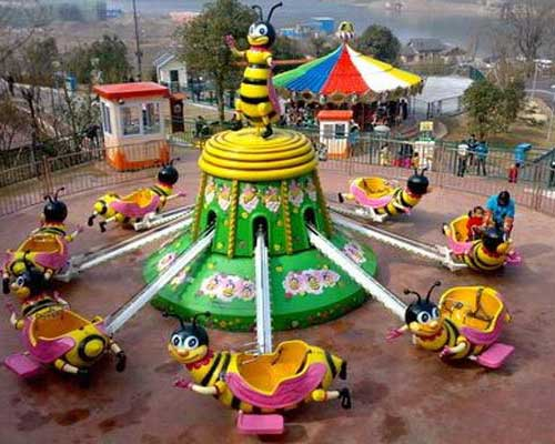 funfair self-control rotary bee ride for sale