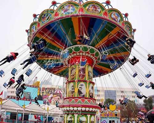 amusement park chair-o-plane cheap