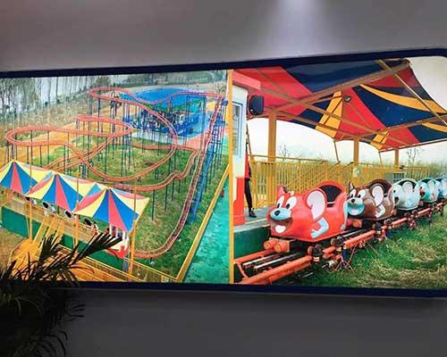 amusement park family roller coasters for sale cheap