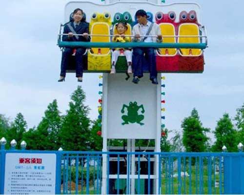 amusement park frog hopper rides