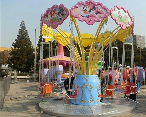amusement park swing carousel rides for sale