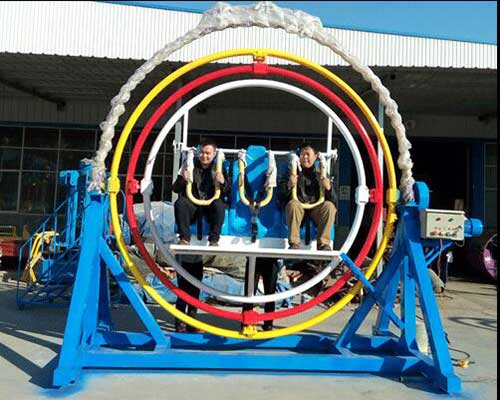 6 seats human gyroscope rides for sale