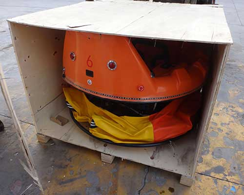 packing of Beston inflatable bumper cars