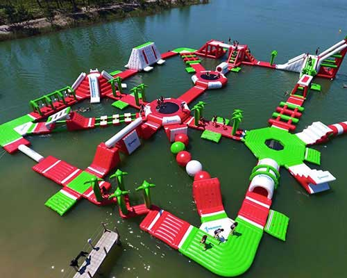 quality floating water obstacle course for sale