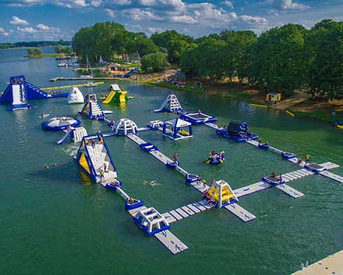 floating water obstacle course manufacturer in China