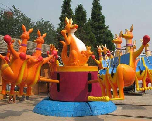 popular family rides kangaroo jumping rides