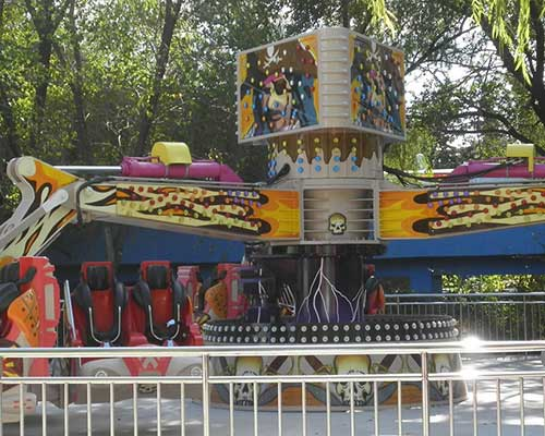 pirate themed energy storm rides