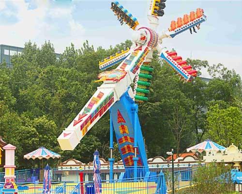 amusement park top scan ride for sale