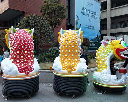 Kids Lion Dance Rides for sale