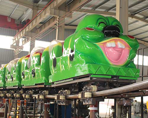 wacky worm roller coaster for sale cheap in Beston group