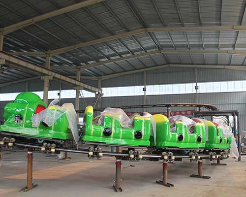 customized amusement wacky worm roller coaster