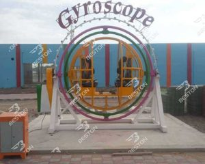 4 Person Human Gyroscope Ride for Sale