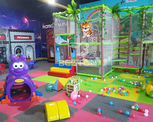 Indoor Playground for Chile Customer