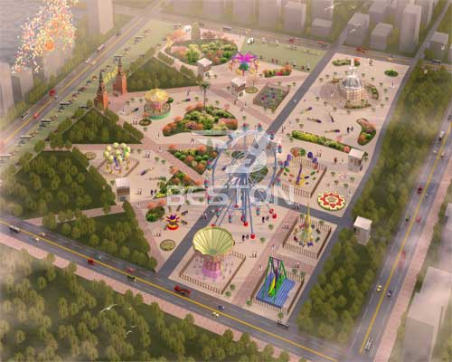 theme park design in Beston
