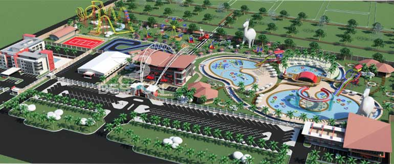 amusement park design in Beston